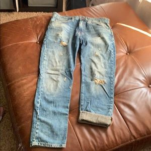 Distressed jeans excellent condition